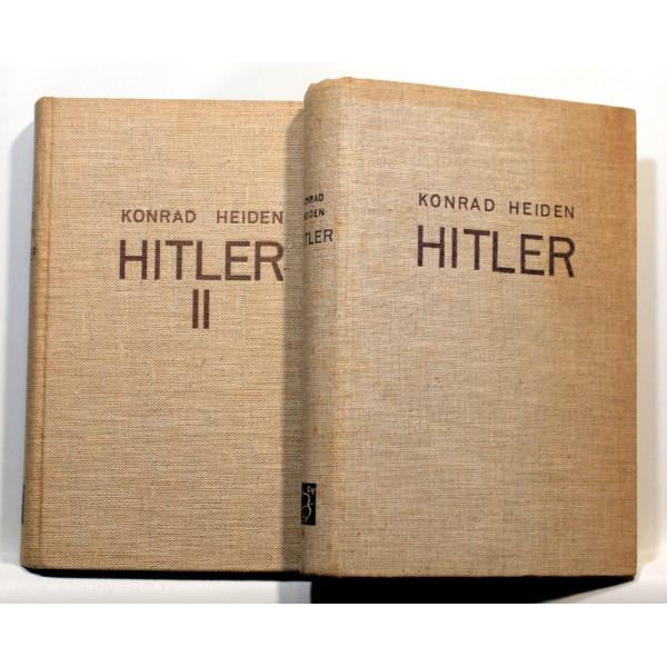 Adolf Hitler. I-II.
