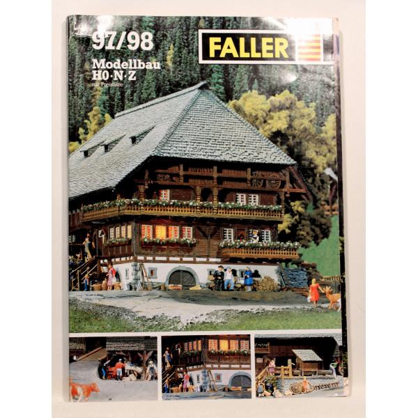 Faller 97/98 Modellbau HO, N, Z, mit Preisliste