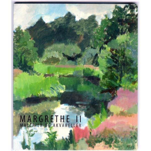 Margrethe II - Malerier og akvareller