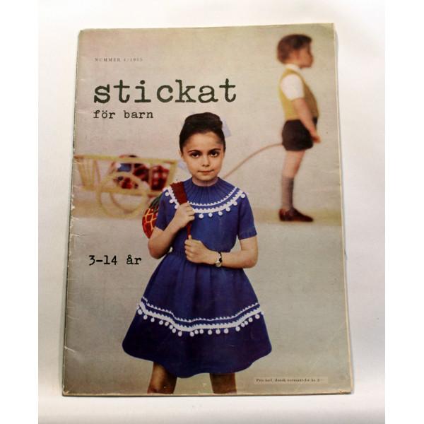 Stickat Nr. 4 Våren 1955